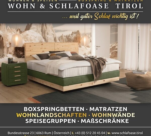 Wohn und Schlafoase Tirol